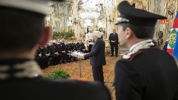 1 - Mattarella al 205° anniversario di fondazione dell'Arma dei Carabinieri