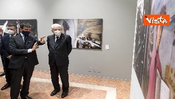 5 - Mattarella inaugura la mostra