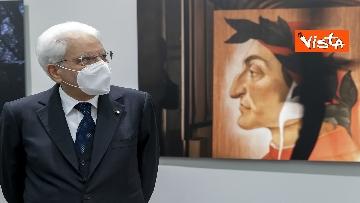6 - Mattarella inaugura la mostra