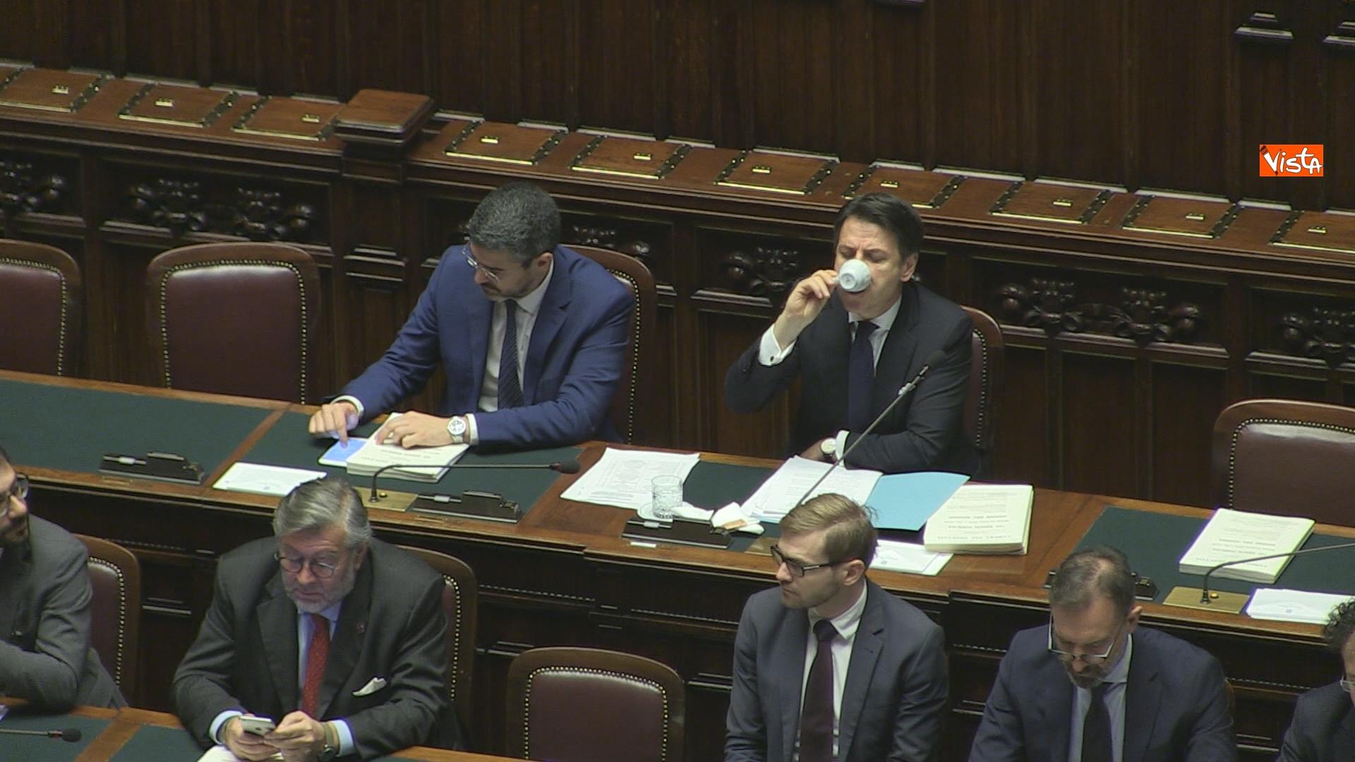19-03-19 Conte riferisce in Aula Camera su Consiglio Ue e Via della seta immagini_02