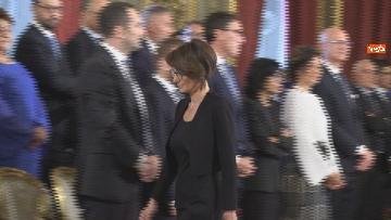4 - Il giuramento del Ministro per le pari opportunita' Elena Bonetti