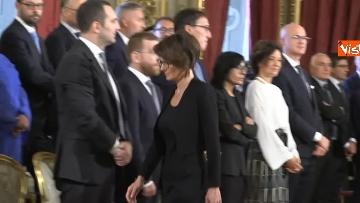 2 - Il giuramento del Ministro per le pari opportunita' Elena Bonetti