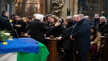 1 - Il Presidente Mattarella partecipa alle esequie solenni di Antonio Megalizzi
