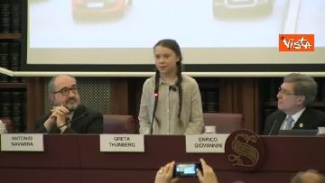 3 - Greta Thunberg al Senato della Repubblica