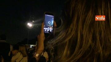 4 - Eclissi luna, dal Colosseo al Gianicolo, Roma presa d'assalto dai turisti