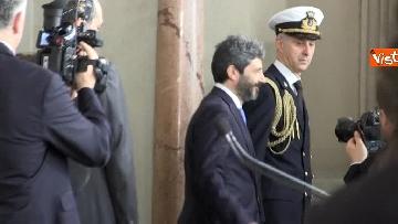 11 - Fico a margine del colloquio con Mattarella immagini