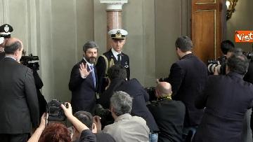 10 - Fico a margine del colloquio con Mattarella immagini
