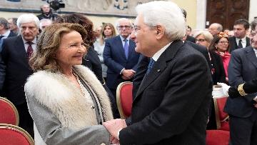 5 - Mattarella alla commemorazione di Giuseppe Tatarella a Montecitorio