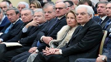4 - Mattarella alla commemorazione di Giuseppe Tatarella a Montecitorio