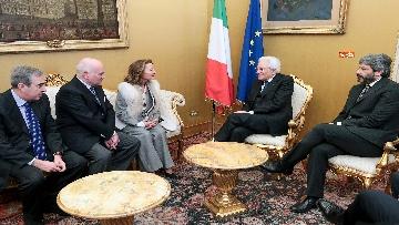 6 - Mattarella alla commemorazione di Giuseppe Tatarella a Montecitorio