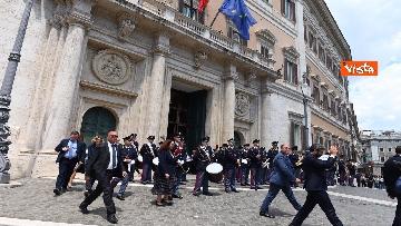 4 - La Fanfara della Polizia a Montecitorio Porte Aperte