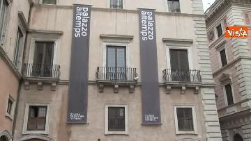 1 - Settimana dei musei, Bonisoli visita le meraviglie di Palazzo Altemps a Roma