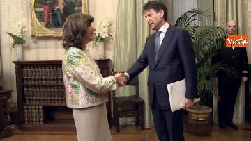 8 - Conte incontra Fico e Casellati