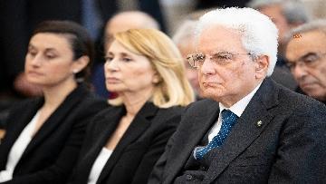 2 - Mattarella alla cerimonia di intitolazione dell'Aula XIII a Massimo D'Antona.