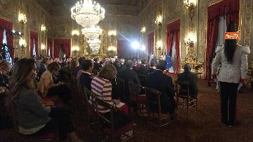 8 - Mattarella riceve il Ventaglio dall'Associazione Stampa Parlamentare al Quirinale