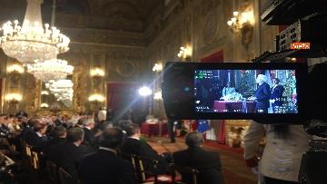 5 - Mattarella riceve il Ventaglio dall'Associazione Stampa Parlamentare al Quirinale