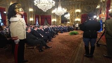 10 - Mattarella riceve il Ventaglio dall'Associazione Stampa Parlamentare al Quirinale