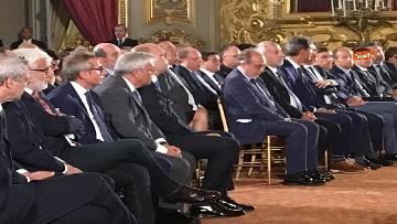9 - Mattarella riceve il Ventaglio dall'Associazione Stampa Parlamentare al Quirinale