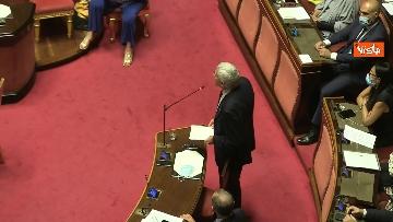 1 - Conte riferisce in Aula Senato su Consiglio Ue, immagini
