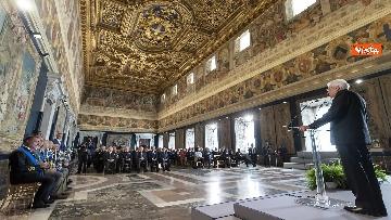 4 - Mattarella consegna decorazioni dell'Ordine militare