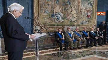 7 - Mattarella consegna decorazioni dell'Ordine militare