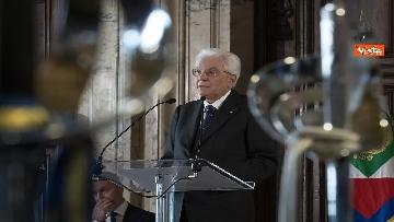 6 - Mattarella consegna decorazioni dell'Ordine militare