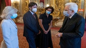 7 - Mattarella riceve direttrice generale Unesco Azoulay
