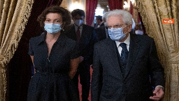 2 - Mattarella riceve direttrice generale Unesco Azoulay