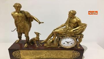 5 - I magnifici orologi della mostra inaugurata da Mattarella ''Segnare le ore. Gli orologi del Quirinale''