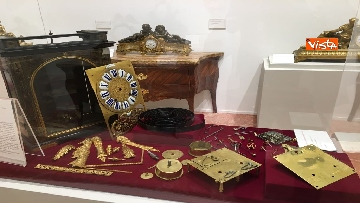 8 - I magnifici orologi della mostra inaugurata da Mattarella ''Segnare le ore. Gli orologi del Quirinale''