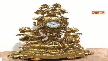 20 - I magnifici orologi della mostra inaugurata da Mattarella ''Segnare le ore. Gli orologi del Quirinale''