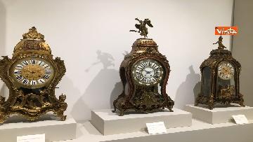 6 - I magnifici orologi della mostra inaugurata da Mattarella ''Segnare le ore. Gli orologi del Quirinale''