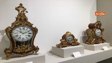 3 - I magnifici orologi della mostra inaugurata da Mattarella ''Segnare le ore. Gli orologi del Quirinale''