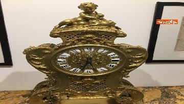 15 - I magnifici orologi della mostra inaugurata da Mattarella ''Segnare le ore. Gli orologi del Quirinale''