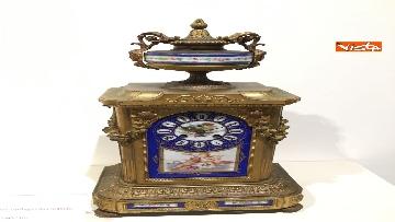 22 - I magnifici orologi della mostra inaugurata da Mattarella ''Segnare le ore. Gli orologi del Quirinale''
