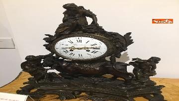 16 - I magnifici orologi della mostra inaugurata da Mattarella ''Segnare le ore. Gli orologi del Quirinale''