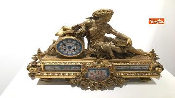 18 - I magnifici orologi della mostra inaugurata da Mattarella ''Segnare le ore. Gli orologi del Quirinale''