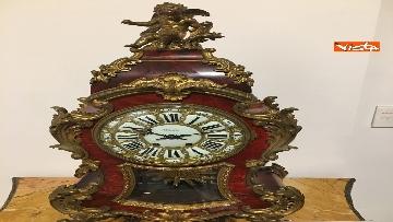 21 - I magnifici orologi della mostra inaugurata da Mattarella ''Segnare le ore. Gli orologi del Quirinale''