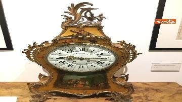 17 - I magnifici orologi della mostra inaugurata da Mattarella ''Segnare le ore. Gli orologi del Quirinale''
