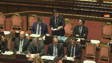 10 - Conte riferisce in Senato su Consiglio Ue e Via della seta immagini