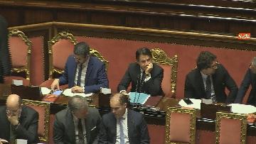 5 - Conte riferisce in Senato su Consiglio Ue e Via della seta immagini