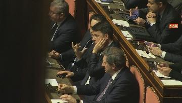8 - Conte riferisce in Senato su Consiglio Ue e Via della seta immagini