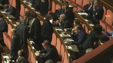 6 - Conte riferisce in Senato su Consiglio Ue e Via della seta immagini