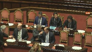 2 - Conte riferisce in Senato su Consiglio Ue e Via della seta immagini