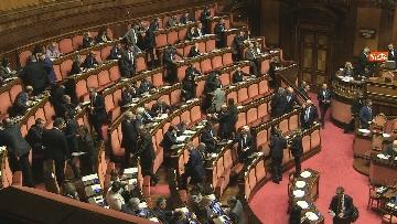 4 - Conte riferisce in Senato su Consiglio Ue e Via della seta immagini