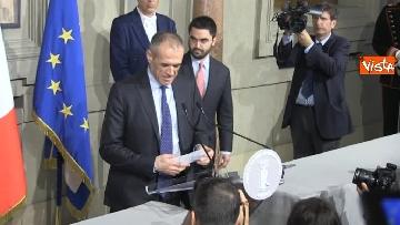8 - Cottarelli rinuncia a incarico di Premier