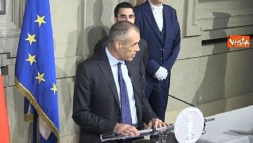 4 - Cottarelli rinuncia a incarico di Premier