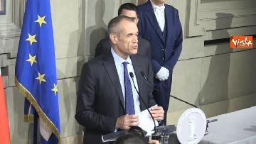 5 - Cottarelli rinuncia a incarico di Premier