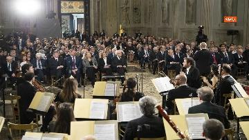 8 - Giorno del Ricordo, Mattarella al concerto celebrativo alla Cappella Paolina del Quirinale