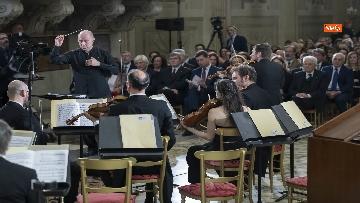 11 - Giorno del Ricordo, Mattarella al concerto celebrativo alla Cappella Paolina del Quirinale